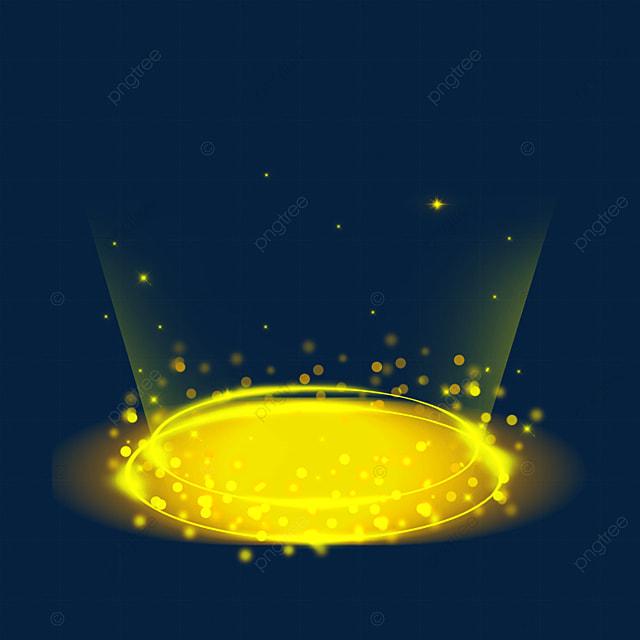 fantasy sense yellow gradient sci fi magic light effect