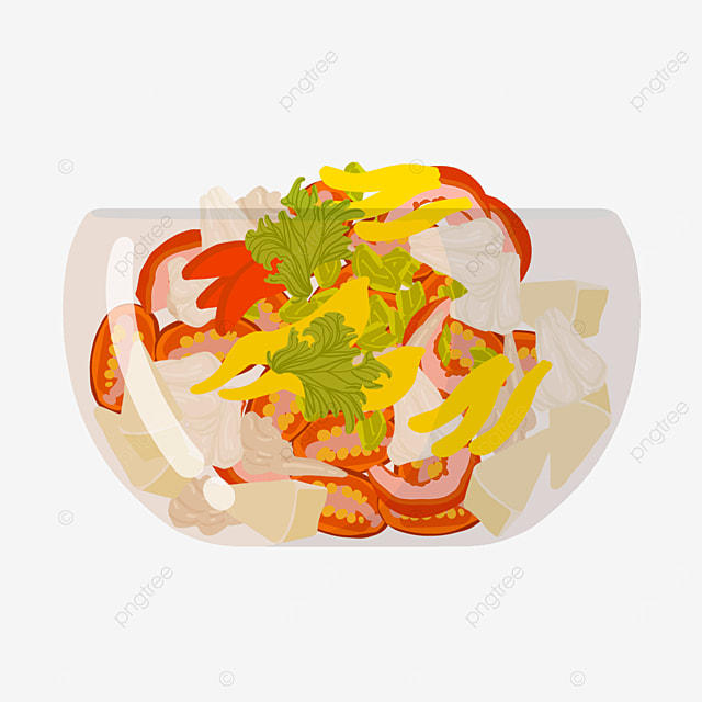 fitness fat loss salad clip art