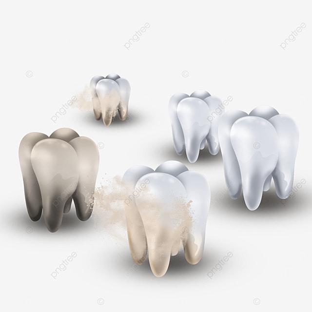 five dental plaque light effect healthy teeth