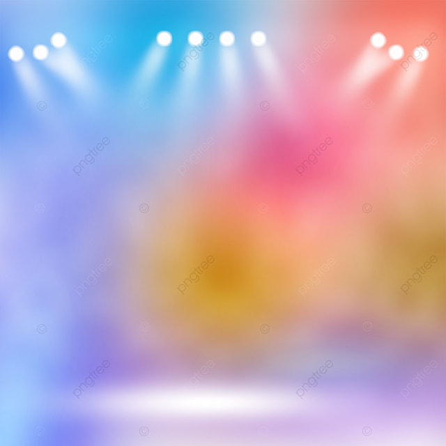 gradient mixing stage color spotlight