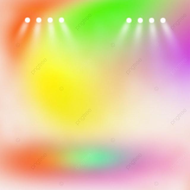 gradient rainbow color stage color spotlight
