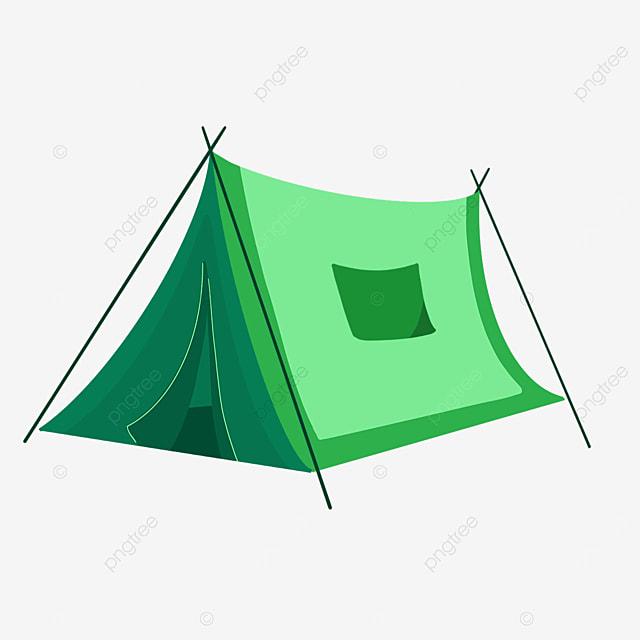 green tent clip art