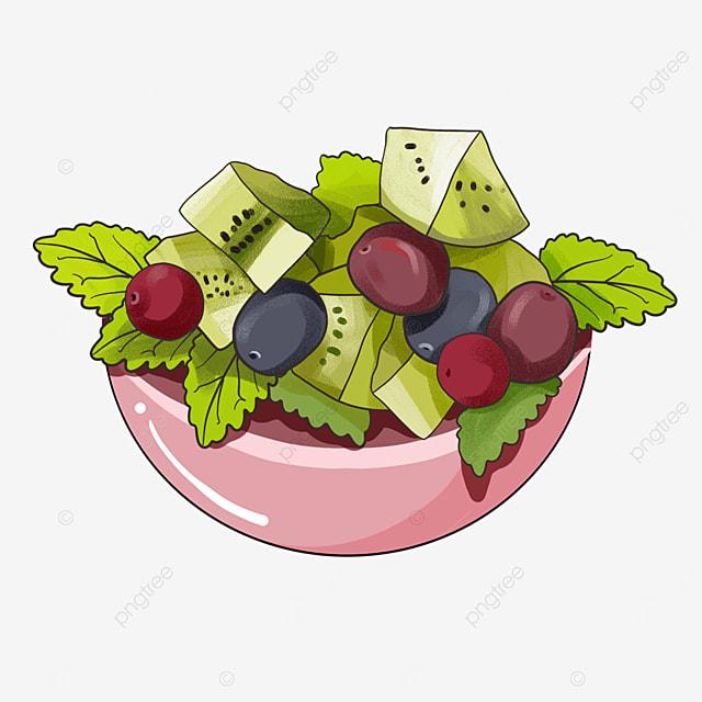healthy vegetarian salad clip art