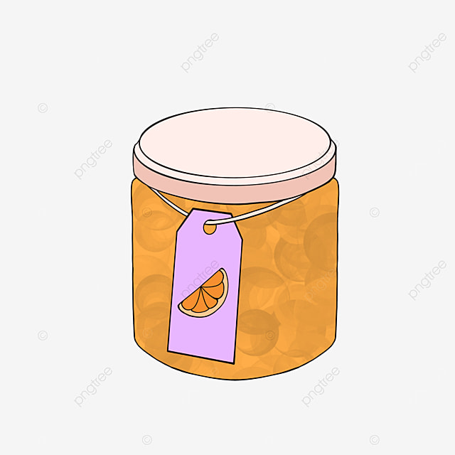jam clip art orange jam