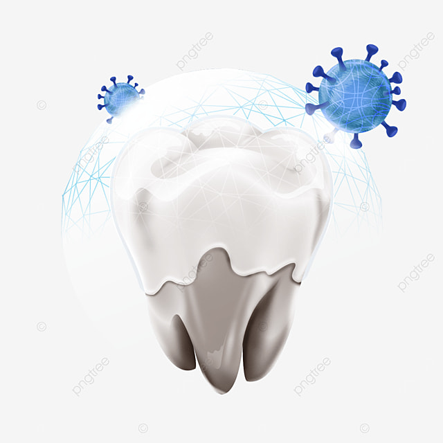 mesh protection light effect dental health