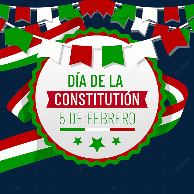mexican constitution day badge