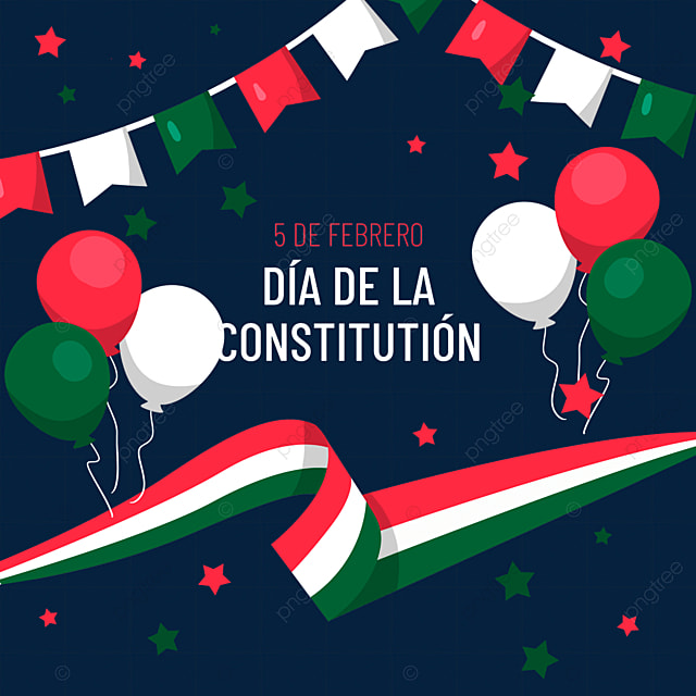 mexican constitution day balloon