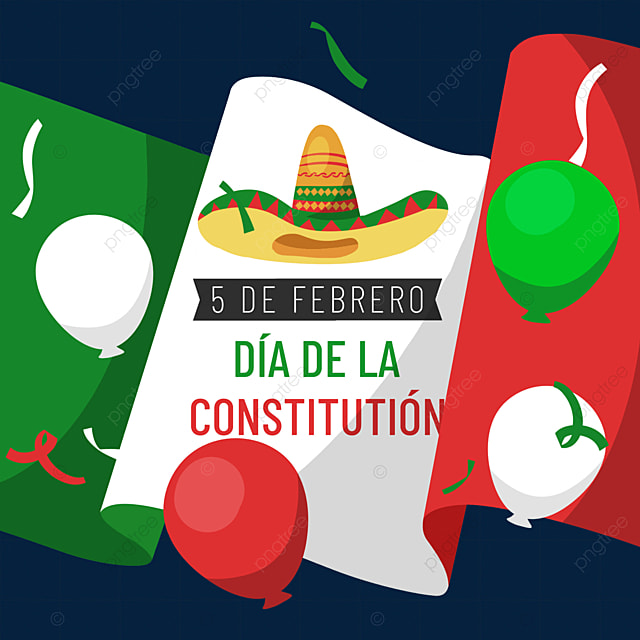 mexican constitution day banner