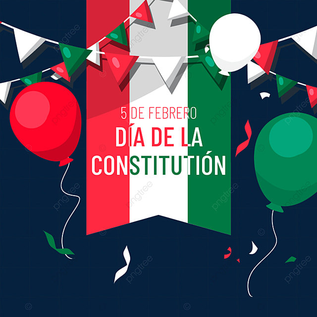 mexican constitution day celebration balloons