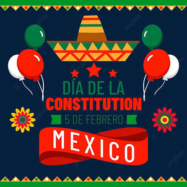 mexican constitution day creative decoration