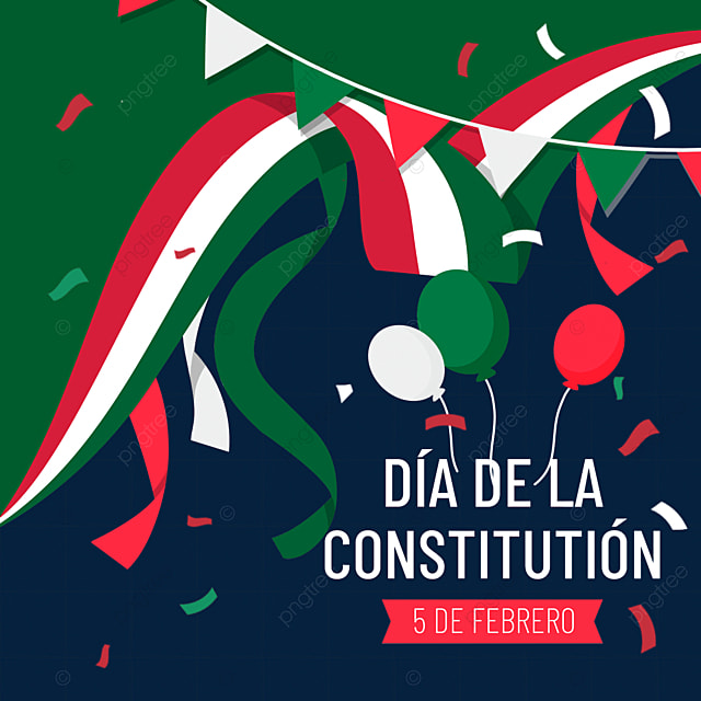 mexican constitution day green decoration