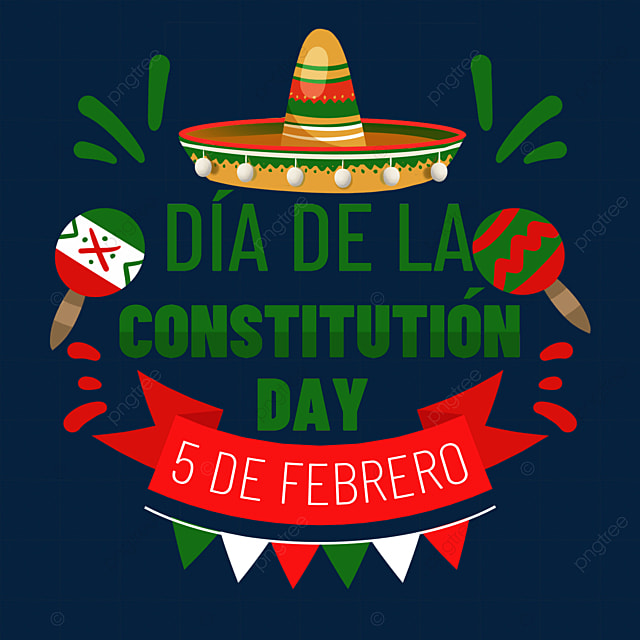 mexican constitution day hat decoration