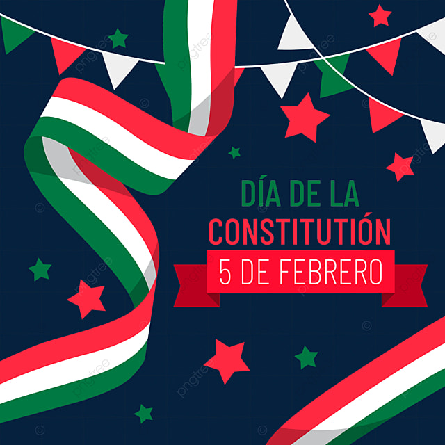 mexican constitution day ribbon