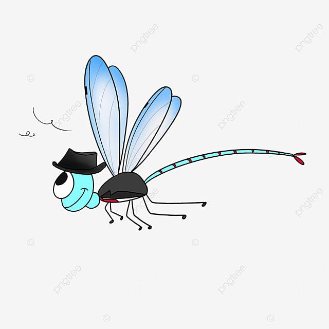 mr dragonfly in a tuxedo clip art