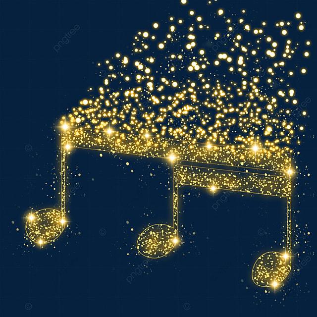 music beat music glow light effect particles