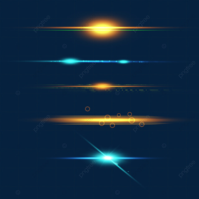 orange and blue light effect aperture combination