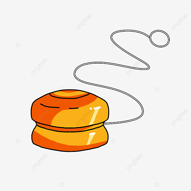 orange yo yo clip art