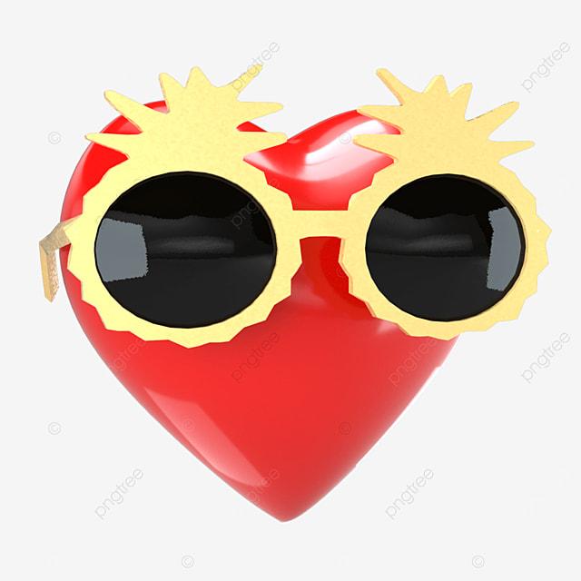 personalized sunglasses peach heart