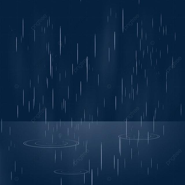 rainy day raindrop falling line