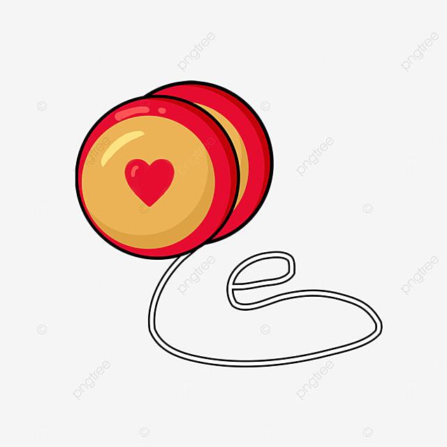 red love yo yo clip art