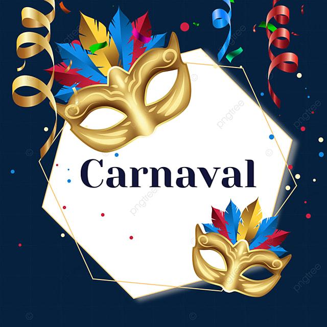 ribbon brazilian carnival border
