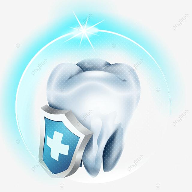 shine blue light effect dental health