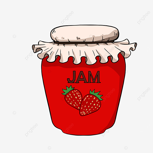 strawberry jam clipart sweet jam