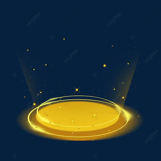 textured yellow sci fi magic light effect