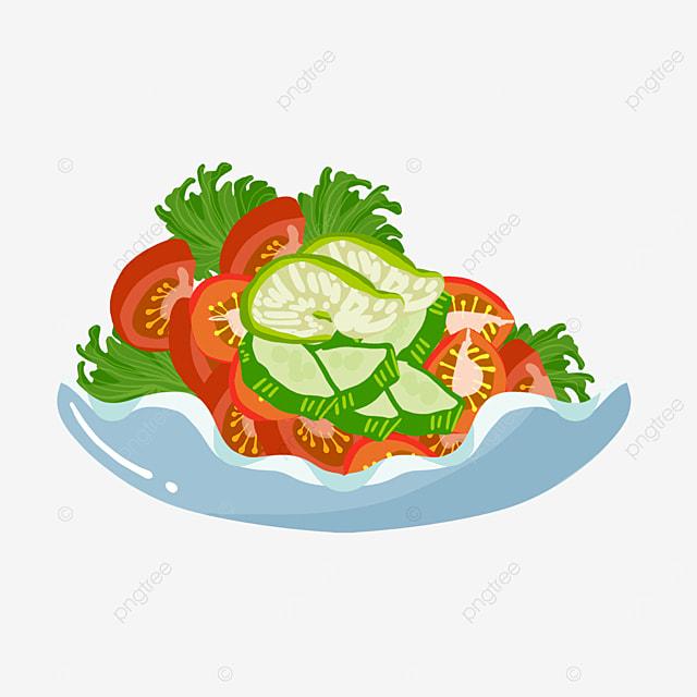 tomato fresh salad clip art