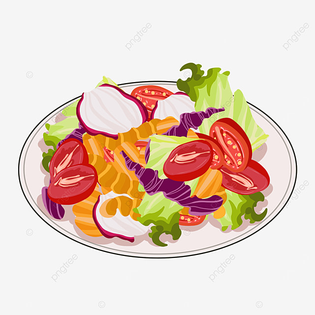 tomato onion salad clip art