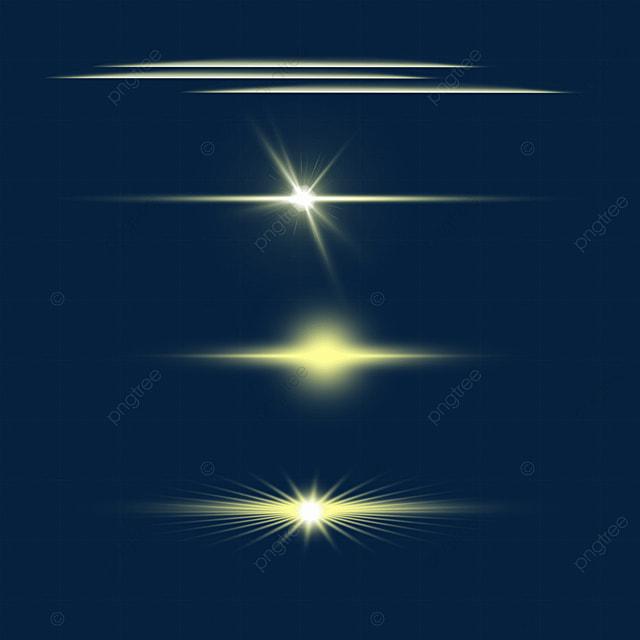 transparent yellow sparkle light effect aperture combination