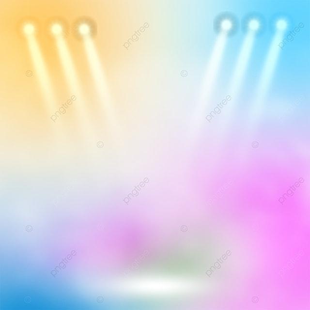 trendy atmosphere stage color spotlight