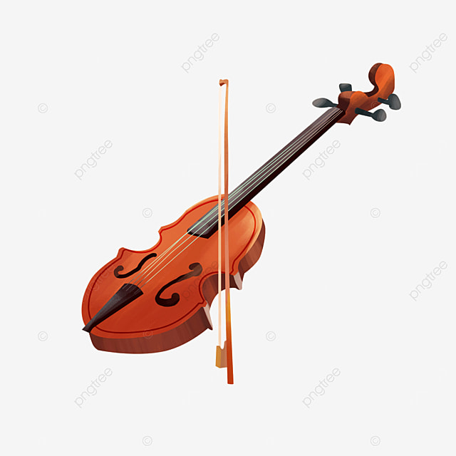 violin and bowstring western classical musical instrument violin clipart