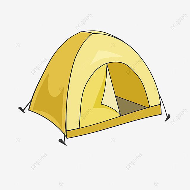 warm windproof tent clip art
