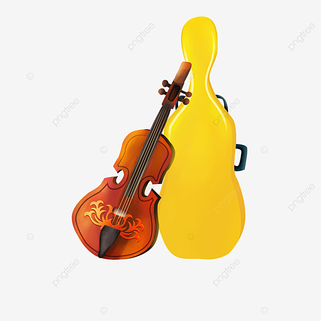 yellow box pattern pattern violin clipart