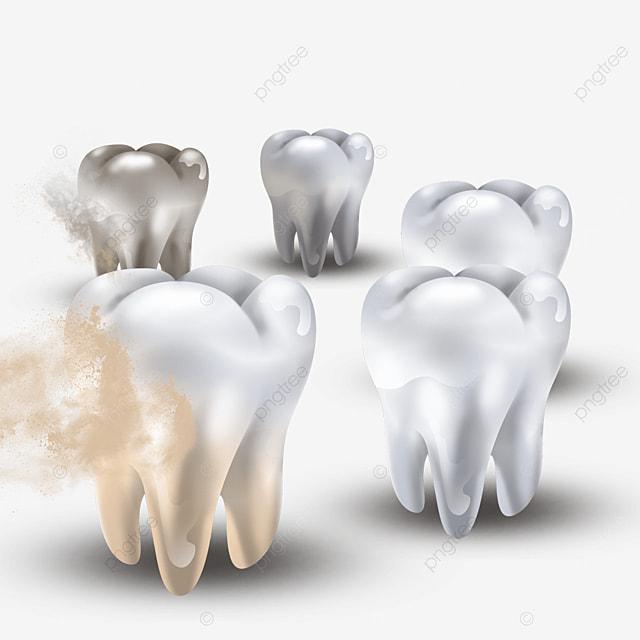yellow dental plaque light effect dental health