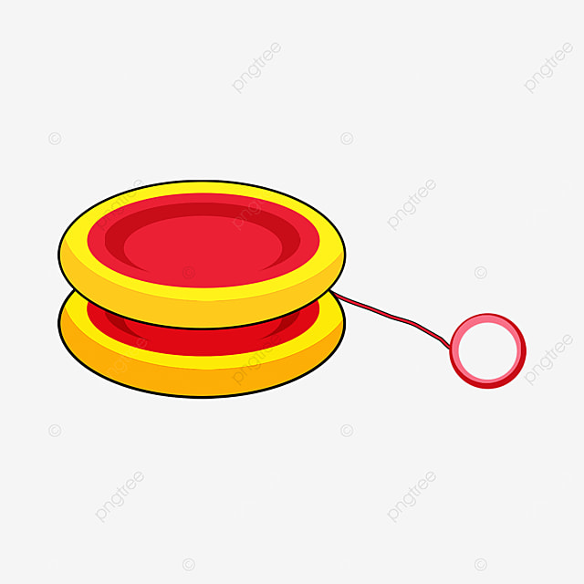 yellow yo yo clip art