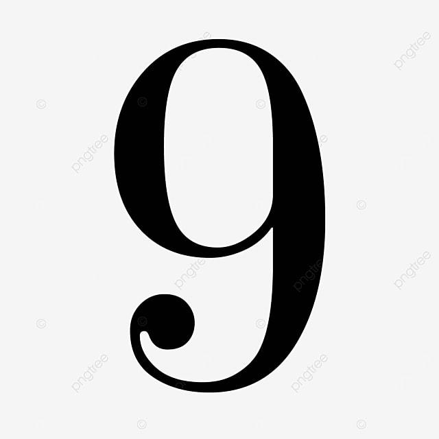 black number 9 cool