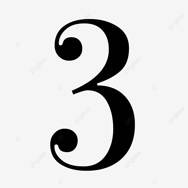black number cool 3
