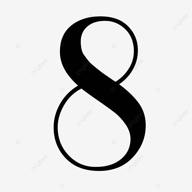 black number cool 8