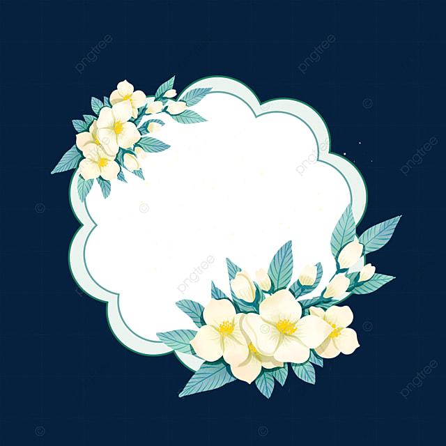 flower jasmine flower border