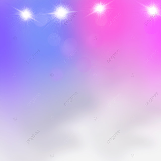 purple and pink gradient stage color spotlights