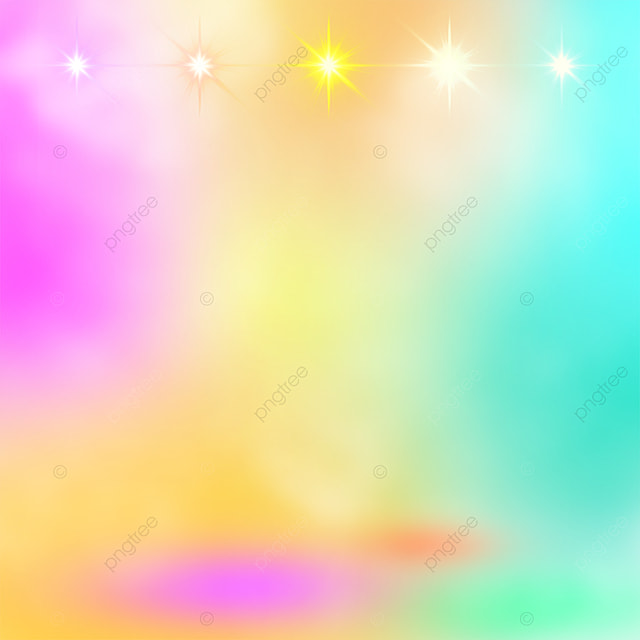 rainbow color shiny stage color spotlight