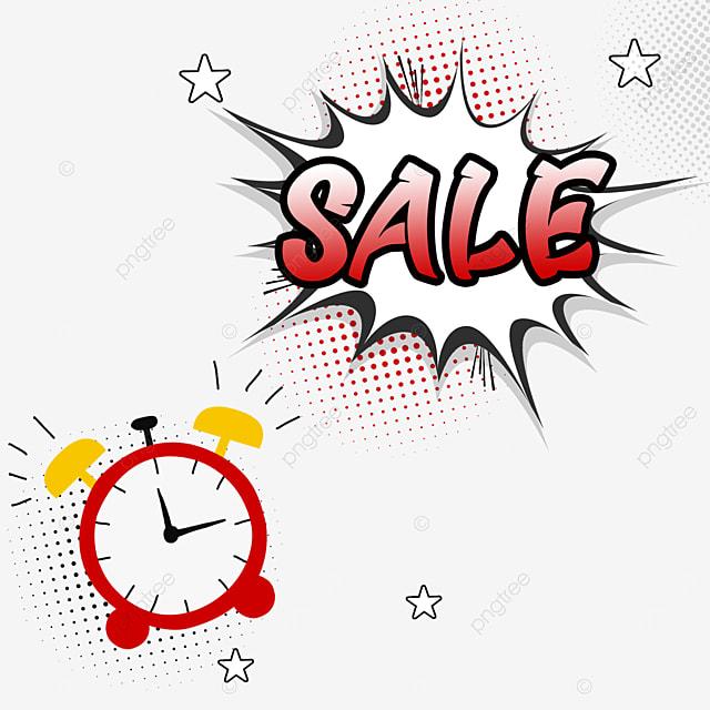 alarm clock discount creative promotion dialog