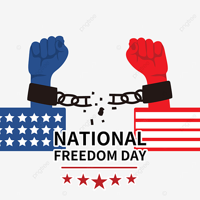freedom from handcuffs national freedom day