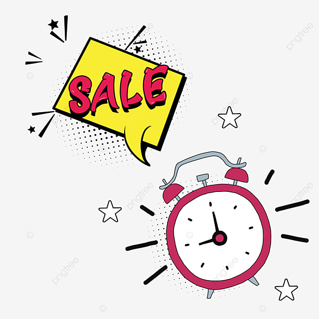 yellow promotion dialog box discount countdown