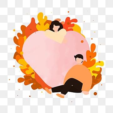 คู่รักวันวาเลนไทน์ปลูกหัวใจรัก, ปลูก, คนรัก, รัก PNG และ PSD
