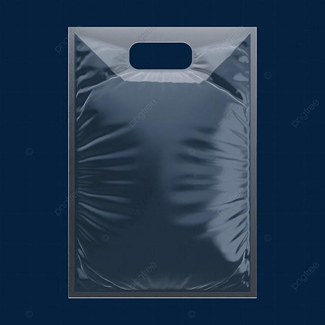 3d transparent packaging hanging bag