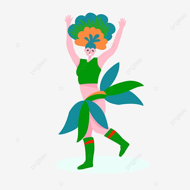 brazilian carnival joy dancers