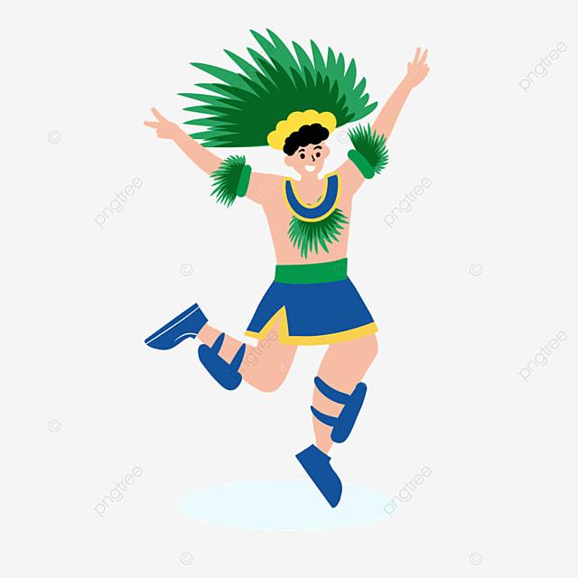 brazilian carnival male dancer